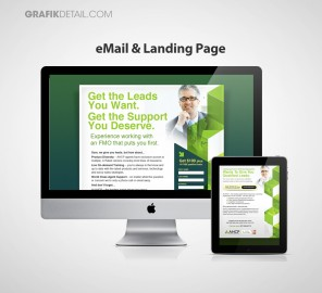 AHCP Email and Landing Page