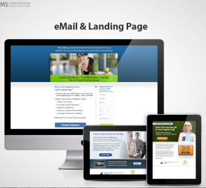 CPIS Email and Landing Page