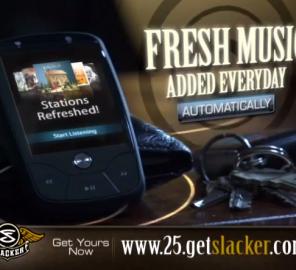 Slacker TV Spot