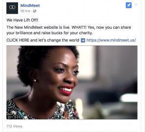 MindMeet Social Media Launch